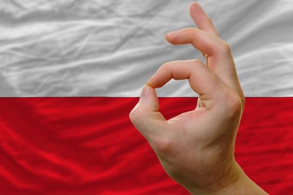 polska vlajka