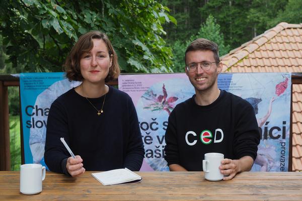 Martin Sladecek a Viktorie Knotkova